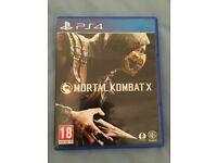 Mortal Kombat X PS4 Game