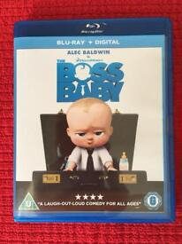 The Boss Baby Blu-Ray With D.C