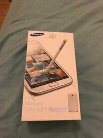 Samsung galaxy NOTE 2 brand new unlocked black