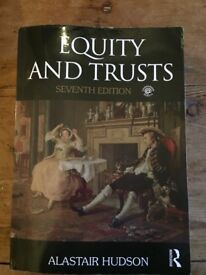 EQUITY & TRUSTS LAW BOOK - Alastair Hudson