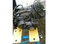 Suzuki TS 100 Engine