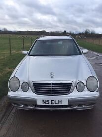 Mercedes E320 CDI Avantgarde, 10 months MOT, 7 Seater, Very Many Spares, Very Tidy