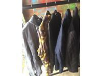 9 men's coats XL