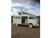VW Early bay camper van