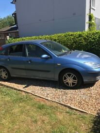 2002 Ford Focus spare or repair