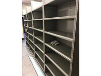 Retro Shelving 8 bays *****Job Lot****