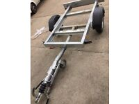 trailer carrier for MOTOR CYCLE genarator and small car urgent sale in good working condition