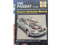 Haynes VW Passat B4 repair manual