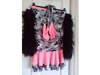 Ladies Rave Dance Outfit (size 8-10)