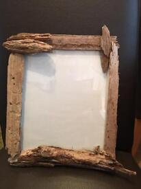 Driftwood handmade picture frames. Unique designs in a range of sizes.