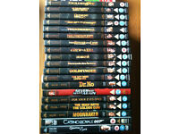 James bond dvd x19 (12 double dvd's)