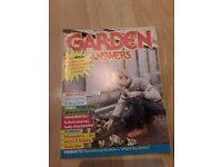 26 garden magazines from 1981 to 1985 free to collect