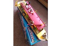 Rare - No Longer manufactured - Sylvanian Canal Barge Boat