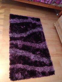 Purple rug - 80cm X 150cm