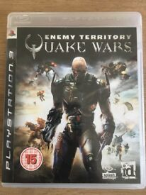 Enemy Territory: Quake Wars PS3 games