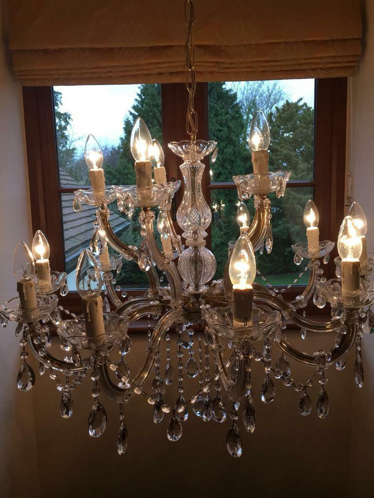 Large john lewis chandelier light in harlow essex gumtree large john lewis chandelier light aloadofball Image collections