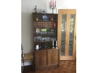 Display Cabinet / Wall Unit - Rosewood - Danish