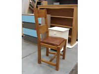Solid Wood High Back Dining Chair = / RRP £140