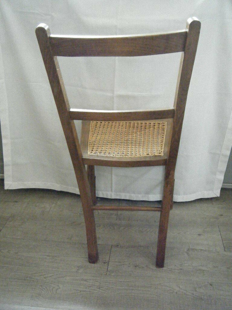 Vintage Cane Seat Wooden Chair In Coventry West Midlands Gumtree