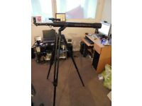 Goldline optical T70 telescope with stand and lenses