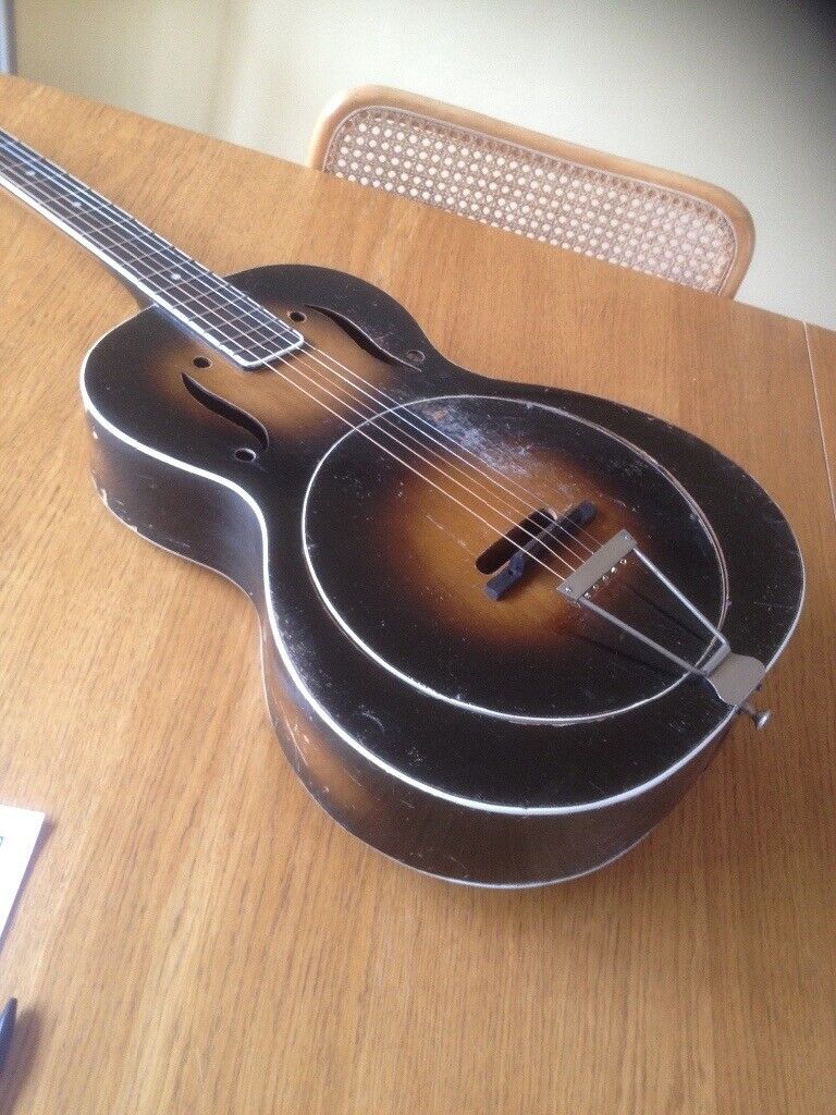 Vintage Wooden Resonator Guitar 1930's   in Colchester, Essex   Gumtree