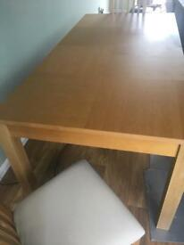Solid Wood Dining Table 180cm seats 6