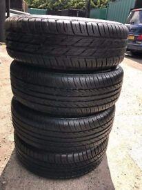 Vauxhall zafira wheels new 4 tyres