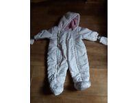 Baby winter suit