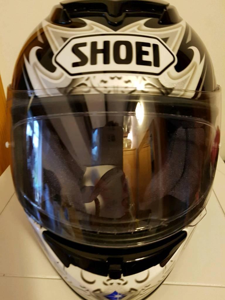 Showing Motorcycle Helmet