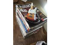 Guitarist's magazines with cd backing tracks