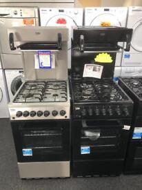 Eye level grill cooker