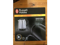 Russell Hobbs Oxford Kettle, Brushed Stainless Steel