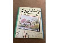 SKETCHING ART BOOK - hardback covers everything!