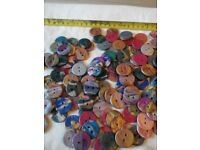 180 Handmade Polymer Clay Buttons