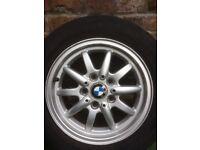 """Bmw 15"""" alloy wheel"""