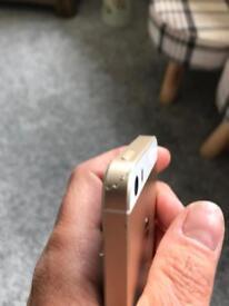 I Phone 5se 34GB rose gold