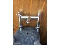 Bathroom mixer tap, easy action quarter turn.