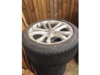 Audi rims and Tyres 245/45 R18