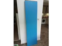 Ikea Pax Wardrobe Blue doors x 2