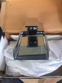 CROSSWATER Water Square Monobloc Bath Filler - WS310DC