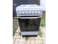 Indesit Single Cavity Electric Cooker Silver