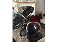 Quinny buzz full set car seat carry cot Pushchair bargain