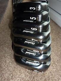 Cleveland CG16 tour 3 , 5, 6, 7, 8, 9, pw dynamic gold S300 shafts