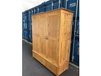 Solid oak wardrobe possible delivery