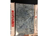 "Blue Wall Tiles - 200x333mm (approx 8"" x 13"") Priced Per Box"