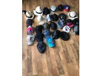 Job lot caps and summer hats