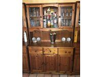 pine kitchen cupboard in scotland home garden furniture for sale