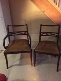 5x dining chairs