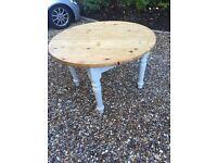 5ft Pine farmhouse kitchen table
