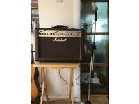 Marshall Amplification AS50R - 50 Watt Acoustic Guitar Amplifier, Microphone and Stand.